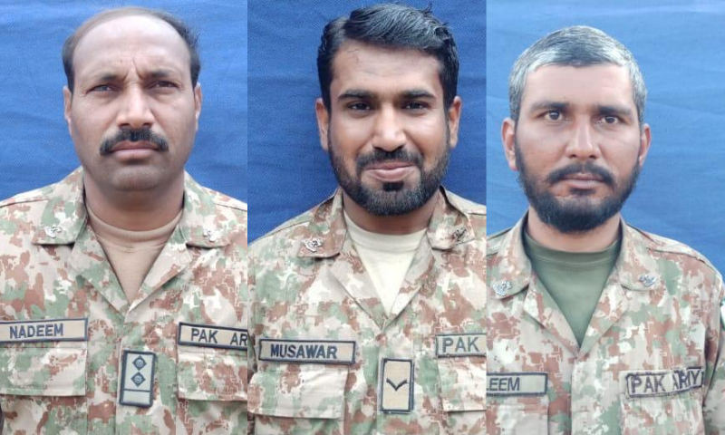 Three soldiers martyred in S. Waziristan attack