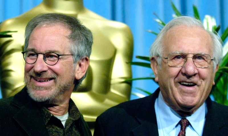 Arnold Spielberg, father of filmmaker Steven Spielberg and an innovating engineer whose work helped make the personal computer possible, has died at 103. — AP