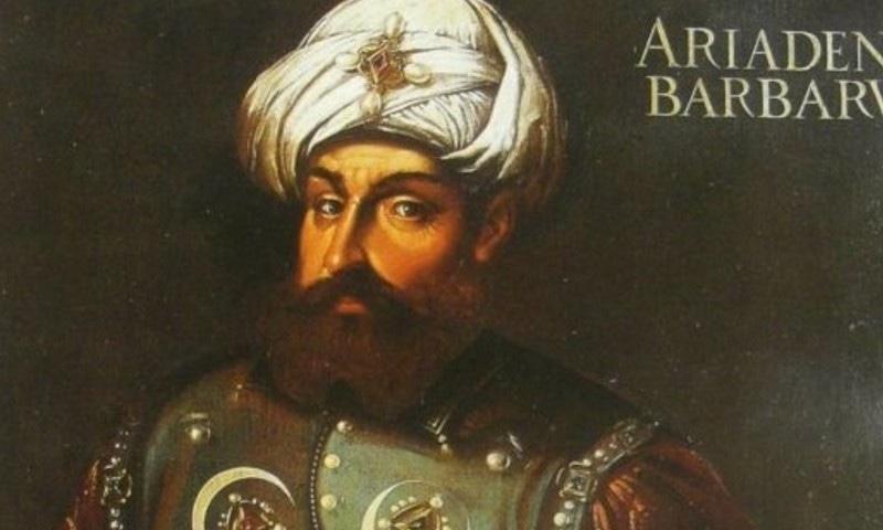 خیر الدین باربروس کا ایک پورٹریٹ— فوٹو بشکریہ وکی پیڈیا