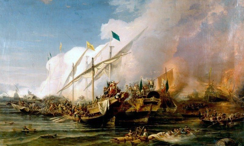 جنگ پریویزا کا ایک پورٹریٹ — فوٹو بشکریہ وکی پیڈیا
