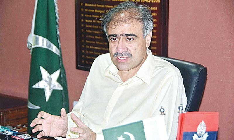 Former home minister Sohail Anwar Siyal says the house raided by NAB's team belonged to his late father. — Dawn/File