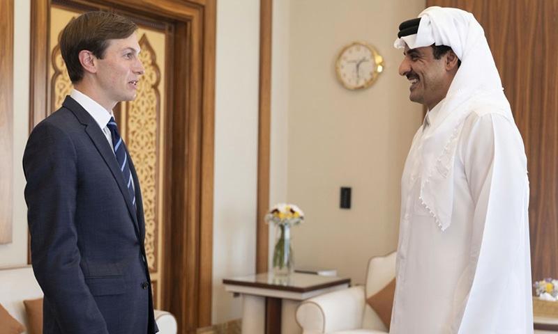 اسرائیل ۔ فلسطین تنازع کے خاتمے کے لیے دو ریاستی حل ضروری ہے، قطر
