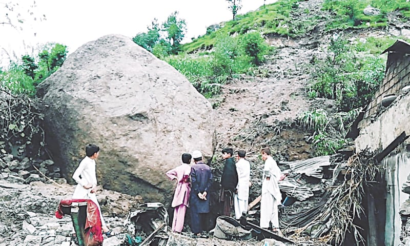 Devastating Khyber Pakhtunkhwa rains claim 23 lives