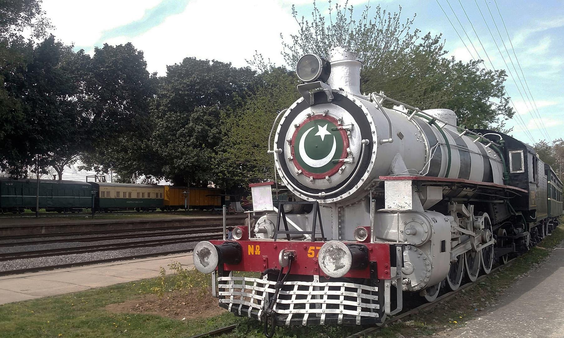 ریلوے اسٹیم انجن