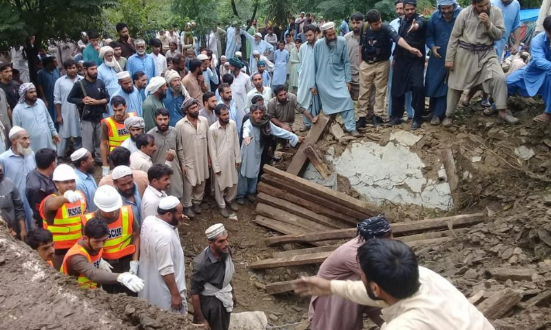 Death toll from devastating rains in KP rises to 48