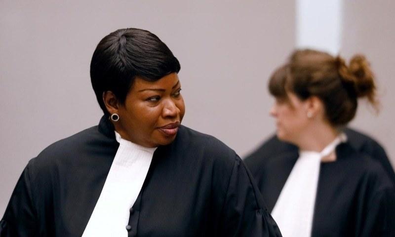 بین الاقوامی فوجداری عدالت کے عہدیداروں پر امریکی پابندی کی مذمت