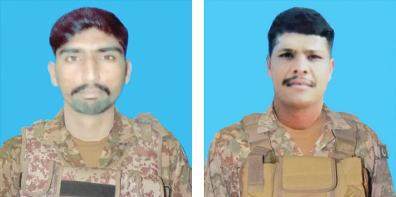 Officer, two soldiers martyred in North Waziristan attack