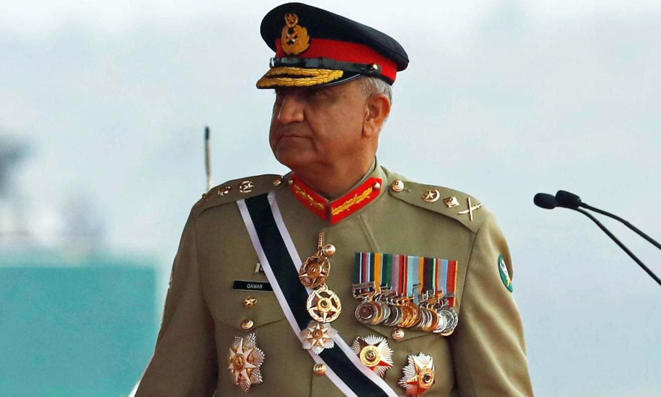 City's businessmen met with the COAS at the Corps Headquarters in Karachi on Wednesday. — Reuters/File