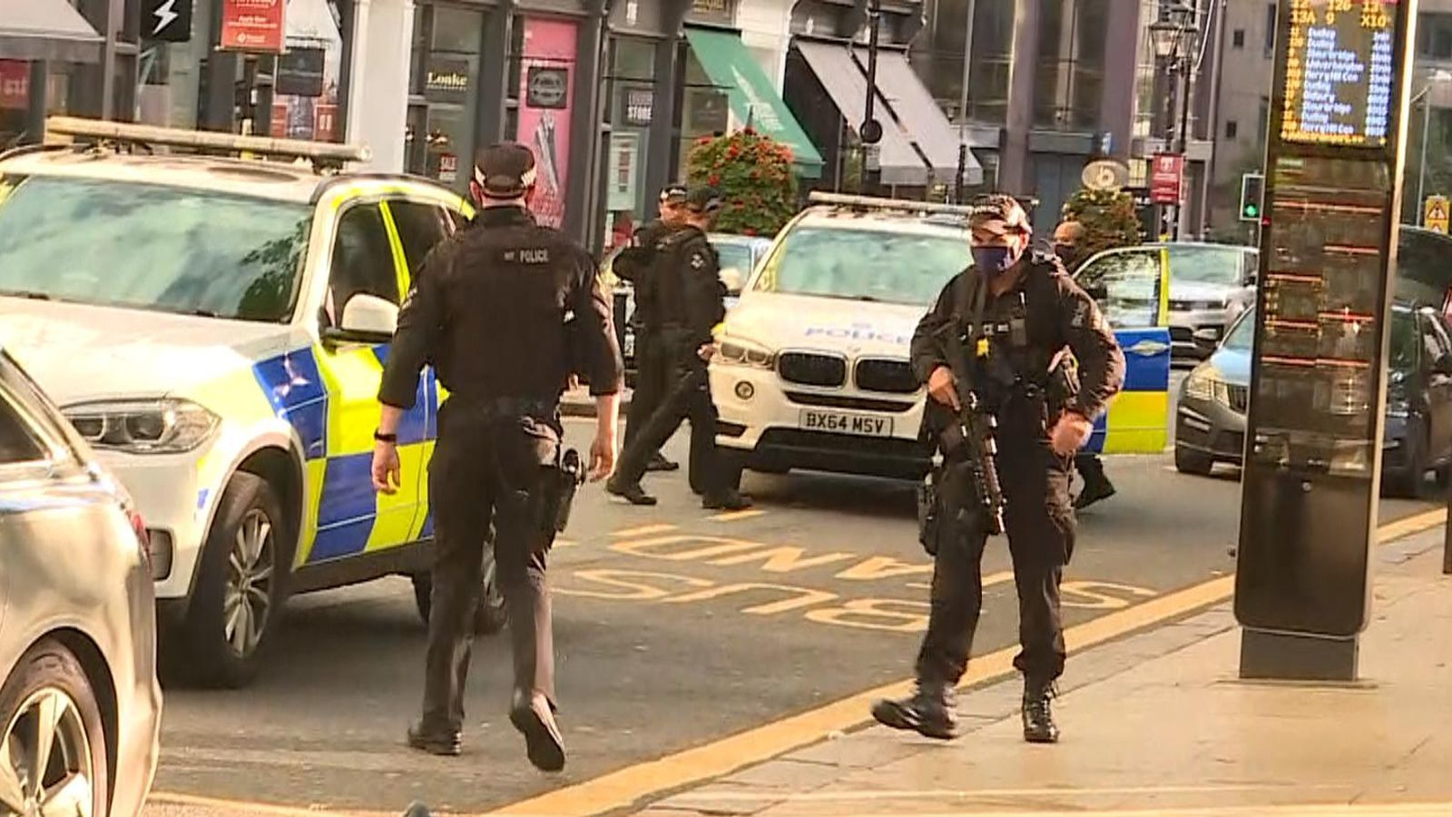 Multiple stabbings in Birmingham, UK - police declare 'major incident'