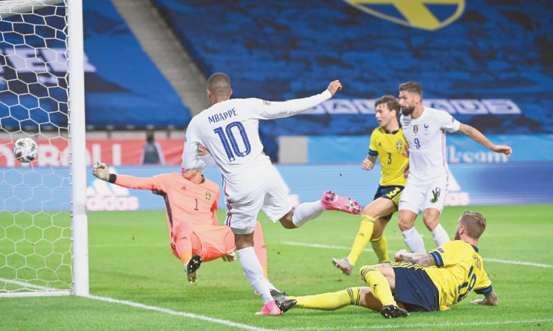 Mbappe Sterling Rediscover Scoring Touch In Nations League Newspaper Dawn Com