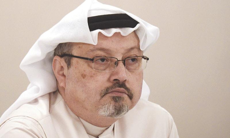 Jamal Khashoggi.—AFP