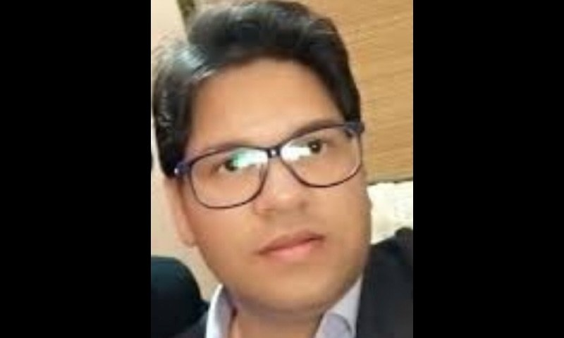 Sajid Gondal had gone missing on Thursday night and his car was found from Park Road in the capital the next morning. — Photo courtesy: Twitter