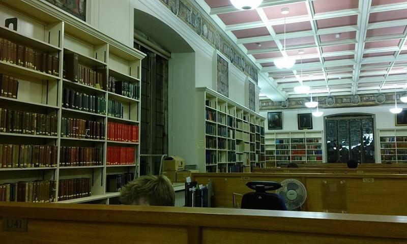 لائبریری شاید یہ وہ جگہ ہو جہاں آپ کو اپنا سب سے زیادہ وقت صرف کرنا پڑے