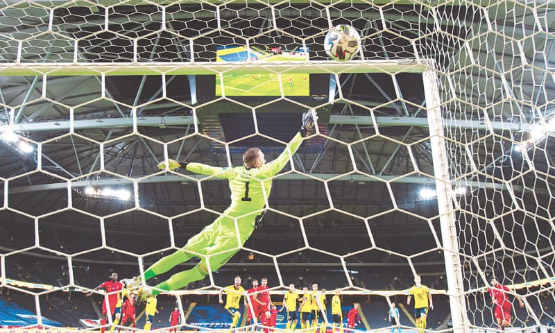 Ronaldo Reaches Century Of International Goals For Portugal Newspaper Dawn Com