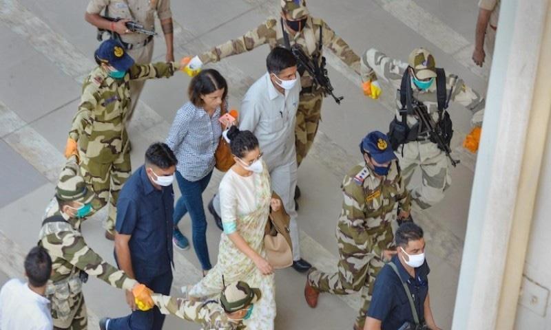 گھر کی توڑ پھوڑ کے بعد کنگنا رناوٹ کو وزیر جیسی سیکیورٹی فراہم