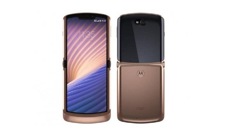 موٹرولا کا نیا ریزر 5 جی فولڈ ایبل فون متعارف