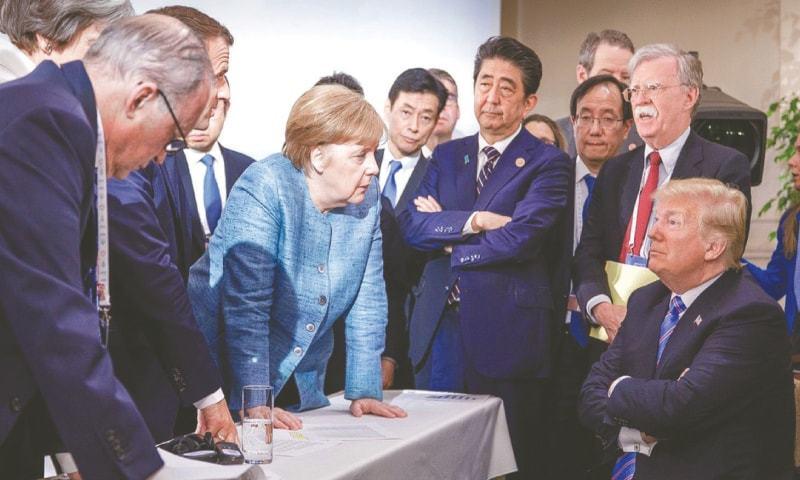 'جرمنی کے شہری کورونا سے زیادہ ٹرمپ سے خوفزدہ'
