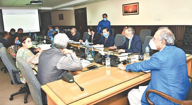Finance Adviser Dr Abdul Hafeez Shaikh is chairing the steering committee meeting of Pakistan Single Window on Thursday.