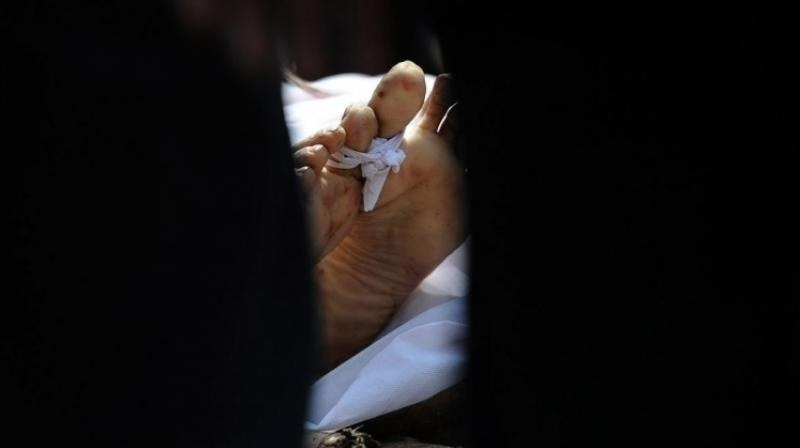 حفیظ اللہ محمد حسنی کو تقریبا چار سال قبل دالبندین سے اغوا کیا گیا تھا ۔ اے ایف پی:فائل فوٹو