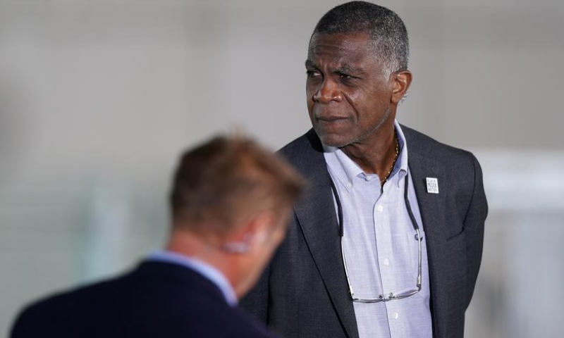 Former West Indies fast bowler Michael Holding. — Reuters/File