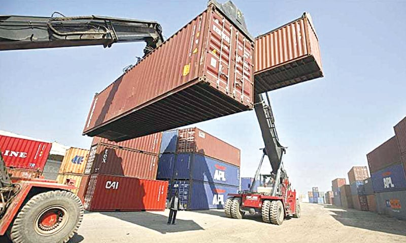 OVER 7,321 containers were stuck at Karachi ports since the movement of goods was halted to contain the spread of Covid-19.
