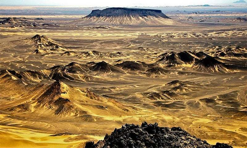 Reko Diq town in Balochistan's Chagai district is famed for its mineral wealth, including gold and copper. — Abdul Razique/File