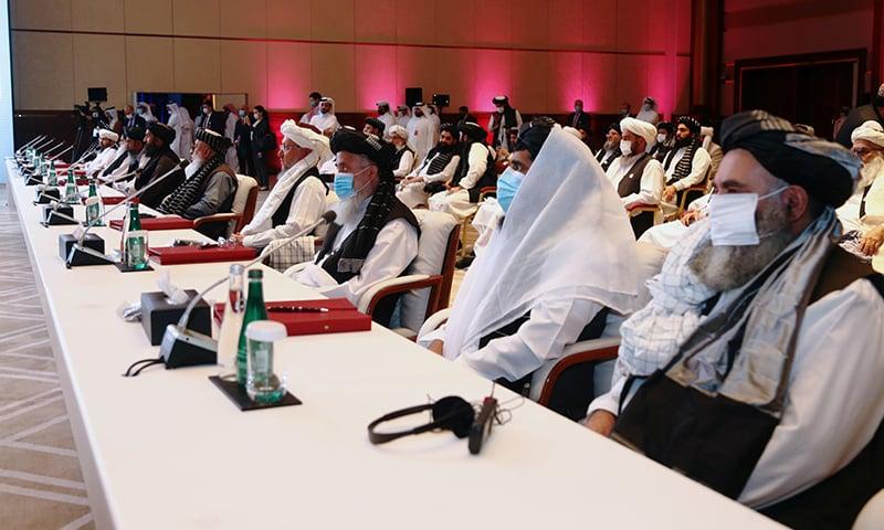 دوحہ: افغان حکومت اور طالبان میں امن مذاکرات کا آغاز
