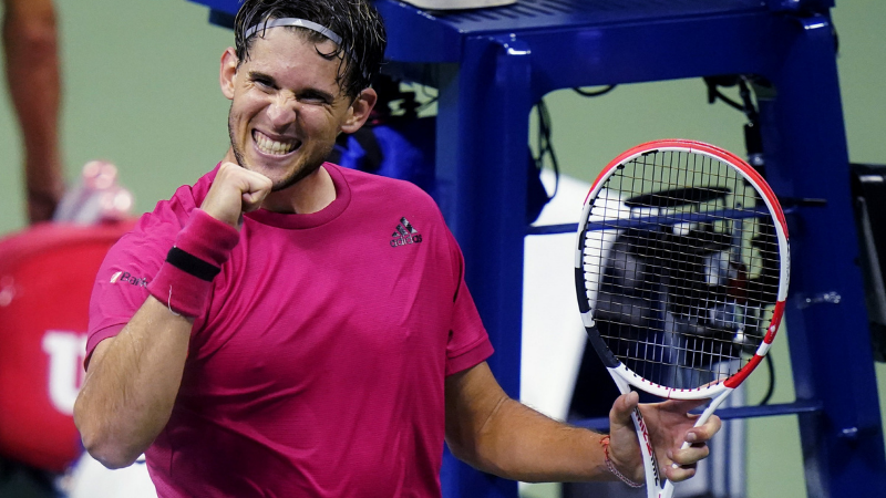 'I'll have to call Andy Murray if I lose,' jokes Dominic Thiem