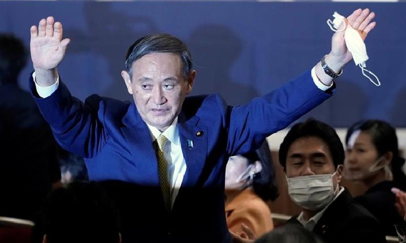 جاپان کی حکمران جماعت کے یوشیہدے سوگا وزیراعظم کیلئے نامزد