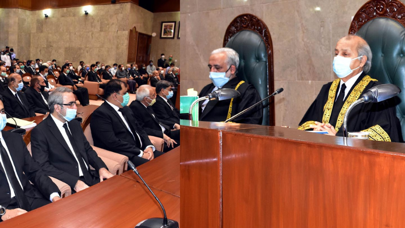 No compromise on independence of judiciary: CJP