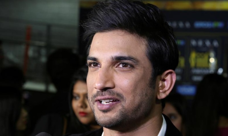 Actor Sushant Singh Rajput talks to the media on the green carpet at the International Indian Film Academy Rocks show at MetLife Stadium in East Rutherford, New Jersey, US., July 14, 2017. — Reuters/File