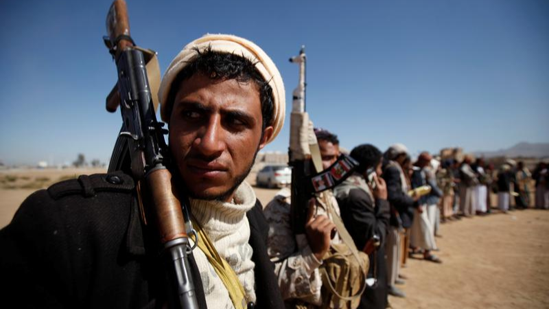 In this file photo, tribesmen attend a gathering held to show support to the new government formed by Yemen's armed Houthi movement.  — Reuters