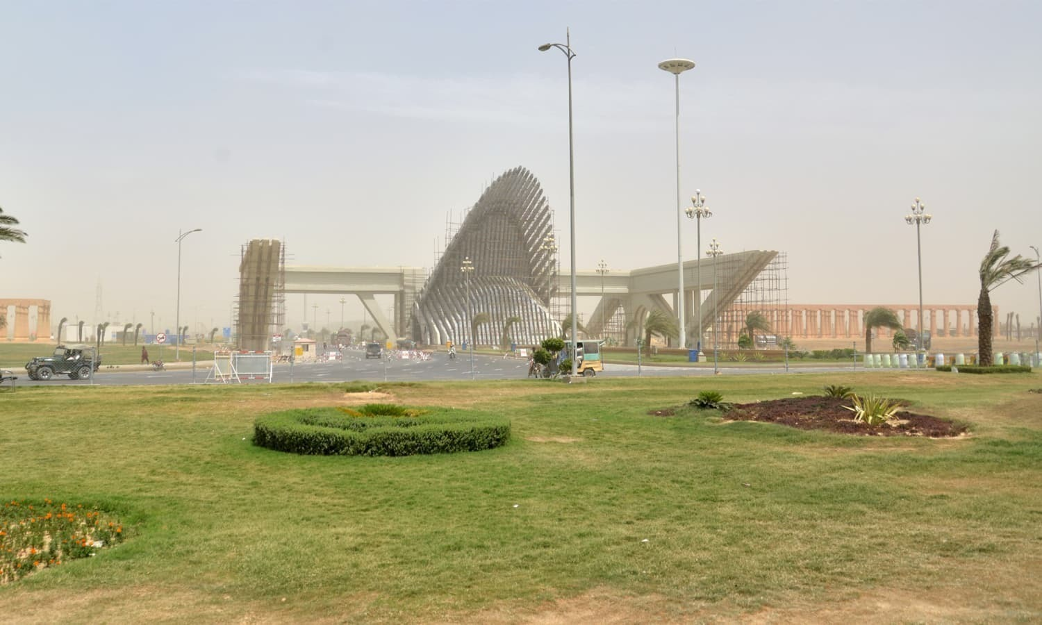 A two-judge bench headed by Justice Mohammad Shafi Siddiqui issued notices to the provincial authorities, Bahria Town and other respondents as well as the advocate general with direction to file comments after four weeks.  — Photo courtesy Bahria Town website/File