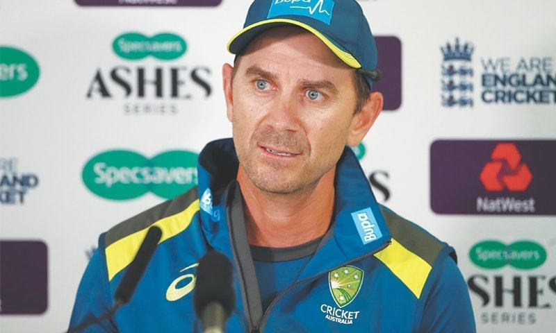 """""""He is definitely tracking in the right direction and we are hopeful he will be right for [Wednesday],"""" Justin Langer told reporters in a video call. — Reuters/File"""