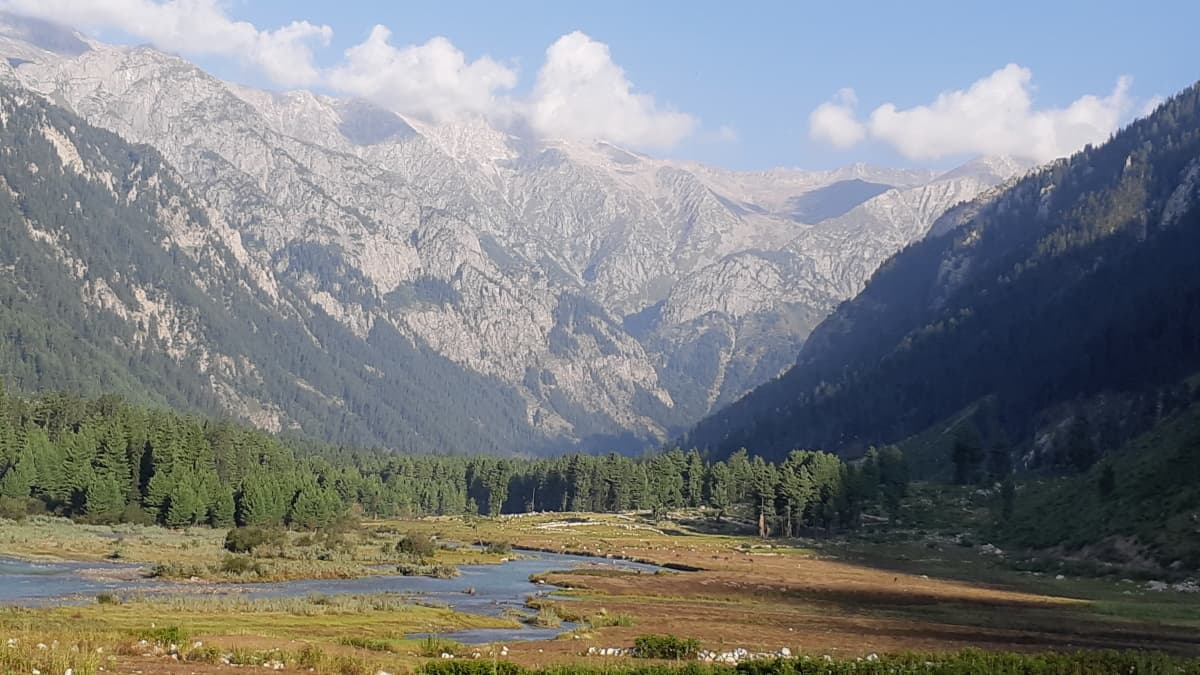 The Kumrat gorge in all its glory.