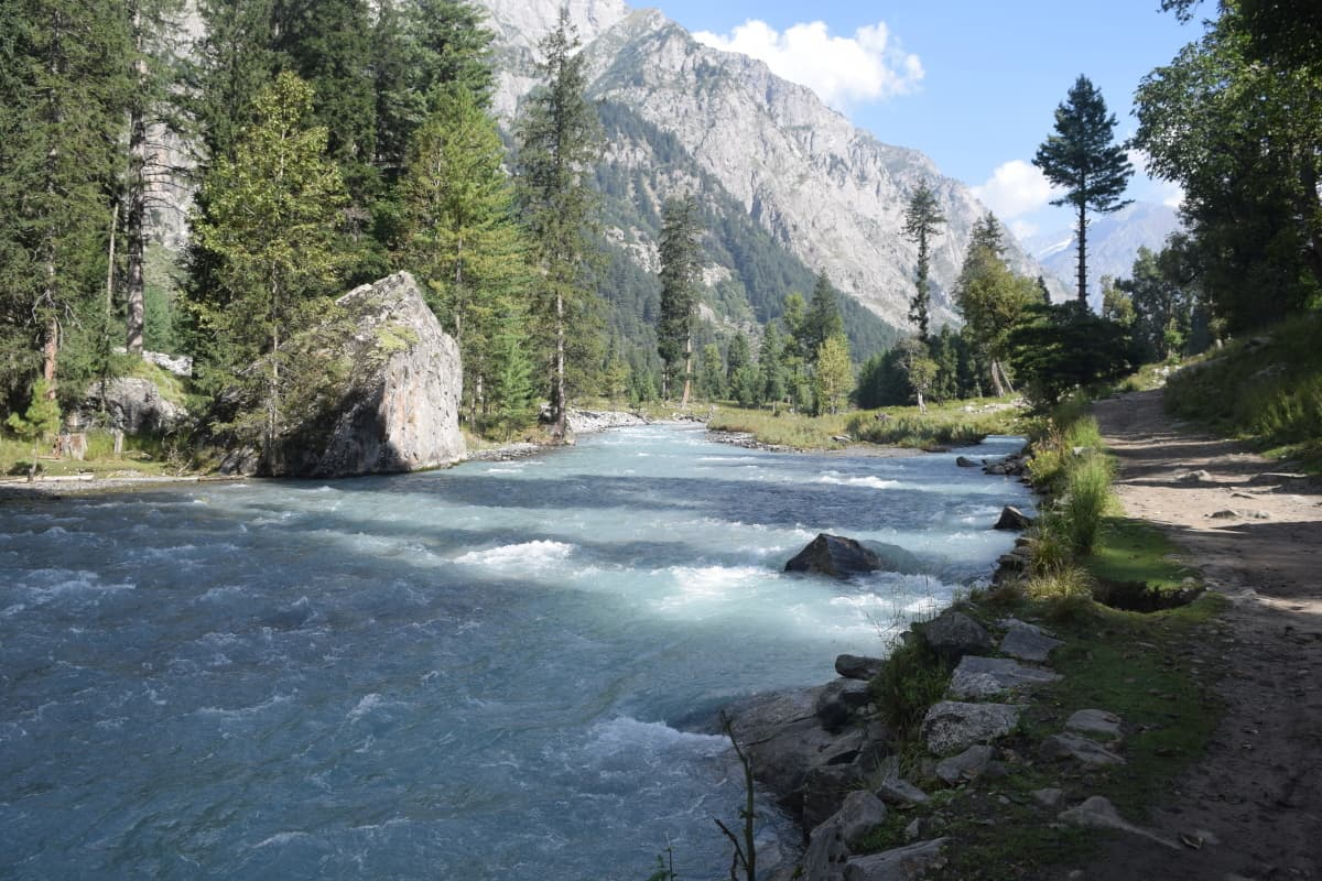 Driving in Kumrat valley is a treat indeed.