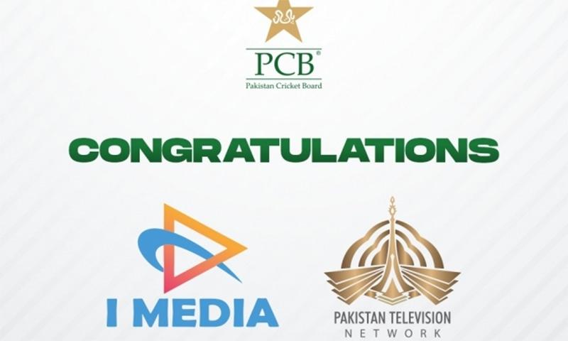 پی سی بی نے پی ٹی وی اور آئی میڈیا کمیونیکیشنز سروسز سے 3سال کا معاہدہ کر لیا— فوٹو بشکریہ پی سی بی