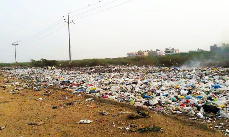 The World Bank has designed the Karachi Solid Waste Emergency and Efficiency Project (SWEEP) with a proposed allocation of $100 million. — File