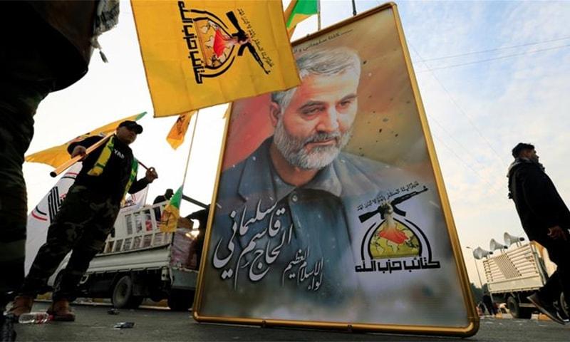 ایرانی جنرل قاسم سلیمانی امریکی ڈرون حملے میں مارے گئے تھے— فائل فوٹو: رائٹرز