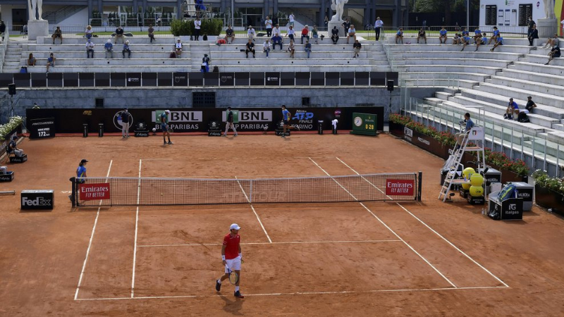 Djokovic, Nadal in quarters as Italian Open prepares for fans
