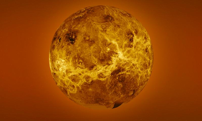 A radar mosaic image of Venus. — nasa.gov
