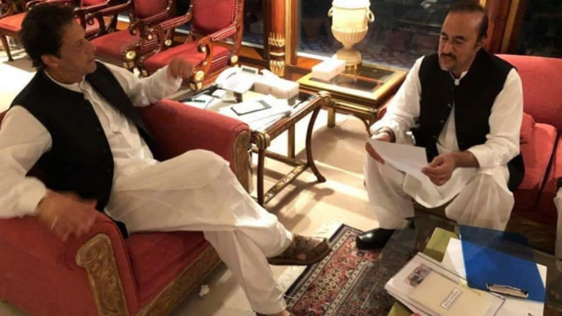 Babar Awan said the prime minister did not discuss the opposition's MPC during his meeting with Khan.