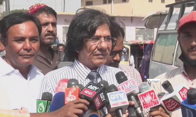 ایم کیو ایم رہنما رؤف صدیقی—اسکرین شاٹ