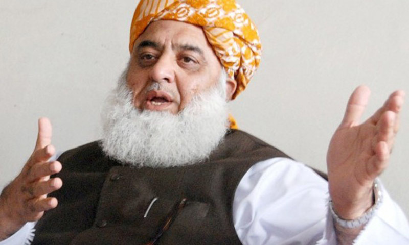 JUI-F chief Fazlur Rehman has been directed to appear before the CIT on October 1. — File