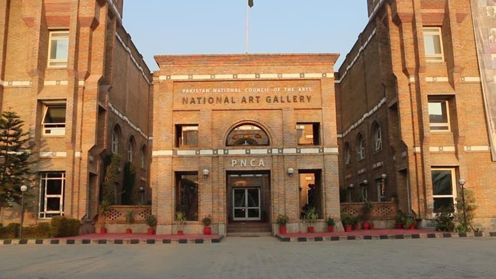 National Art Gallery in Islamabad, Pakistan is the country's first national art gallery