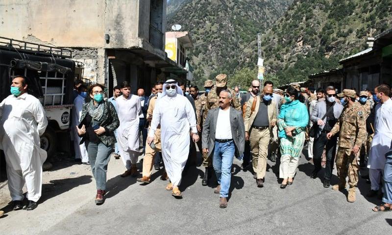 غیر ملکی سفیروں کا لائن آف کنٹرول کا دورہ، ڈی جی آئی ایس پی آر کی بریفنگ