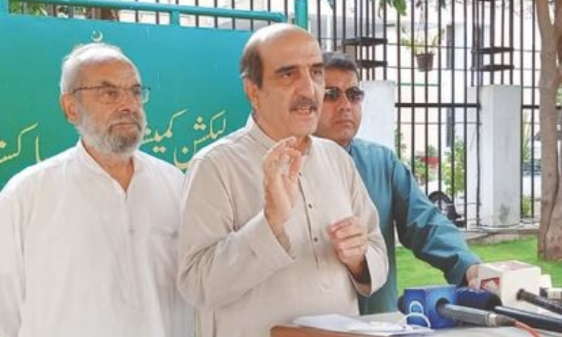 ECP's scrutiny panel restarts work in PTI's foreign funding case