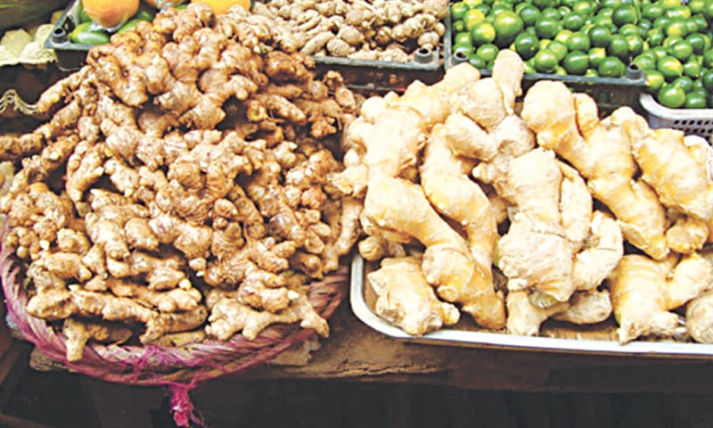 Ginger prices have surged by Rs200 to Rs600 per kg.