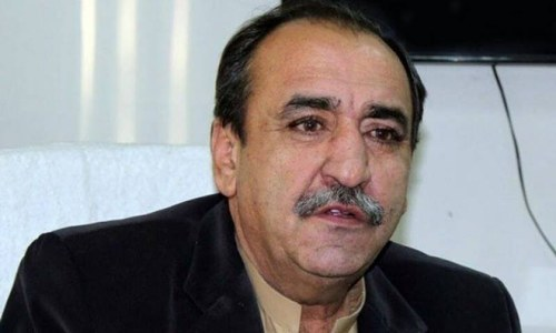 Earlier this month, a local court in Quetta had acquitted former Balochistan lawmaker Majeed Khan Achakzai in a case regarding the death of a traffic warden in a hit-and-run incident over three years ago. — Photo/File