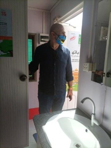 بیت الخلا میں صفائی کے معیار کو برقرار رکھا جائے گا— تصویر بشکریہ شازیہ حسن